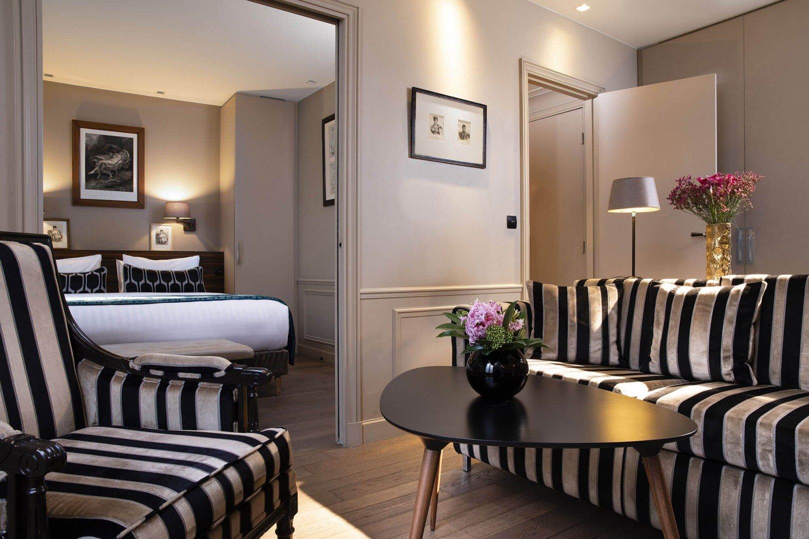 Galerie - Hotel & Spa La Belle Juliette - Hôtel 4 étoiles Paris